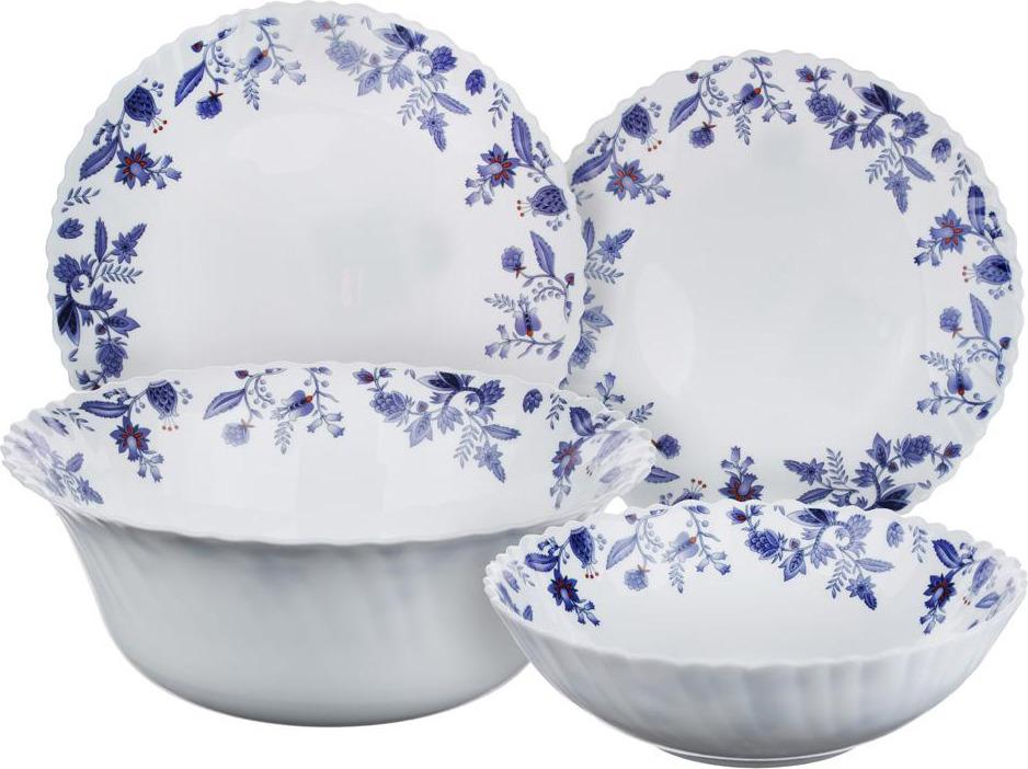 """Набор столовой посуды Millimi """"Таис"""", 818596, белый, 19 предметов"""
