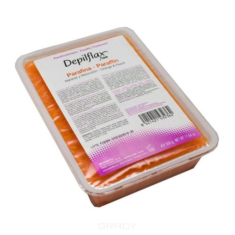 Парафин косметический Depilflaх100 (арт. 432362D), персико-апельсиновый, 500гр.