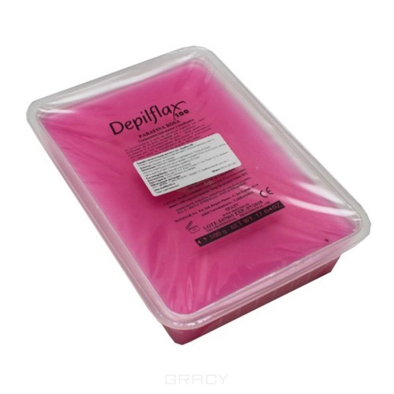 Парафин косметический Depilflaх100 (арт. 901363D), розовый, 500гр.