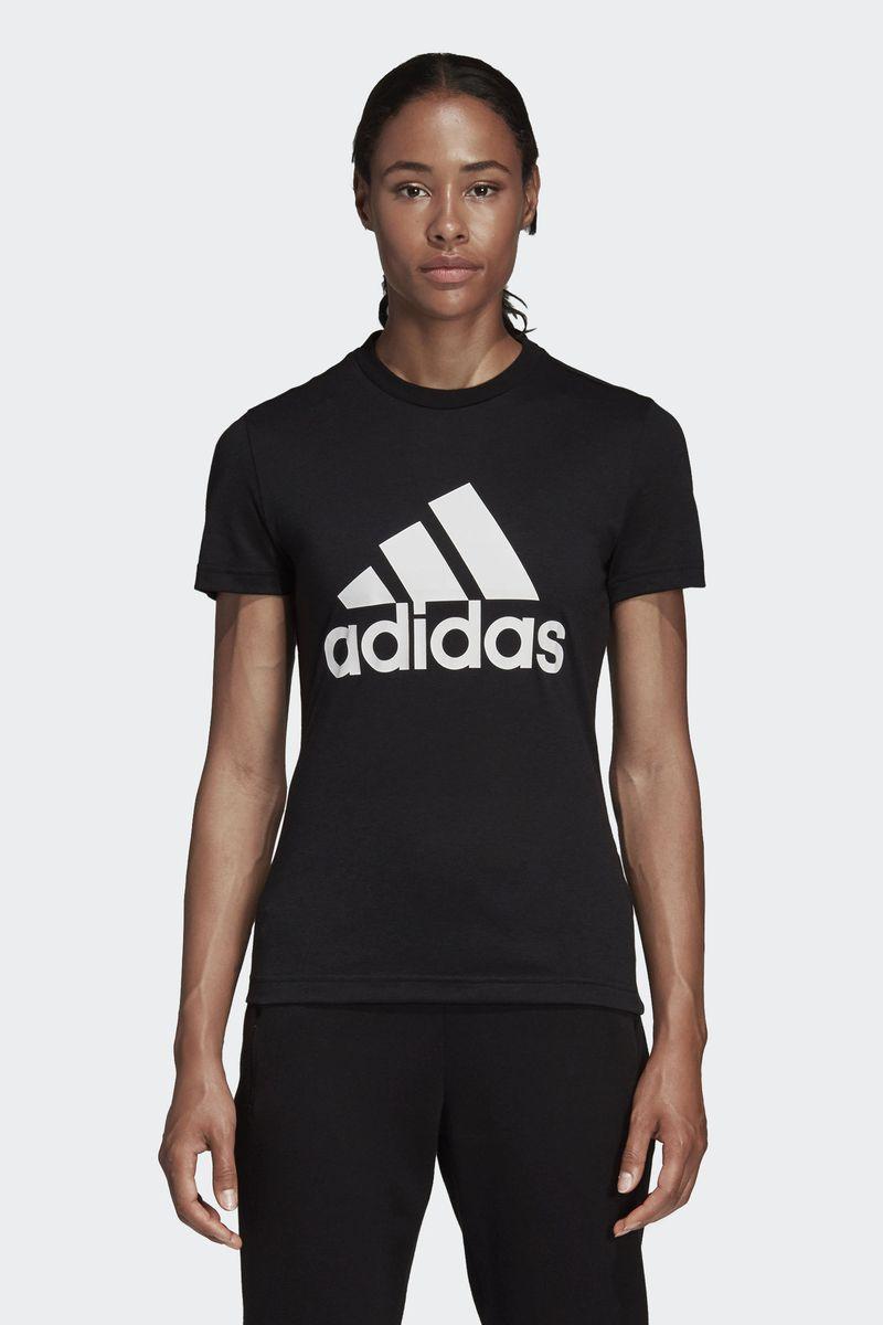 Футболка adidas W Mh Bos Tee катушка индуктивности jantzen cross coil 16 awg 1 3 mm 0 23 mh 0 15 ohm