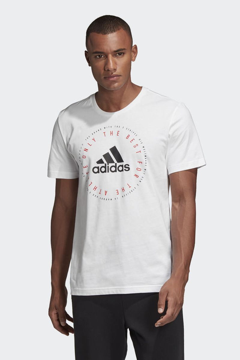 Футболка adidas Mh Emblem T катушка индуктивности jantzen cross coil 16 awg 1 3 mm 0 23 mh 0 15 ohm