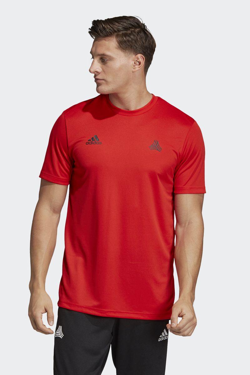 Футболка мужская Adidas Tan Tr Jsy, цвет: красный. DW8455. Размер L (52/54)DW8455