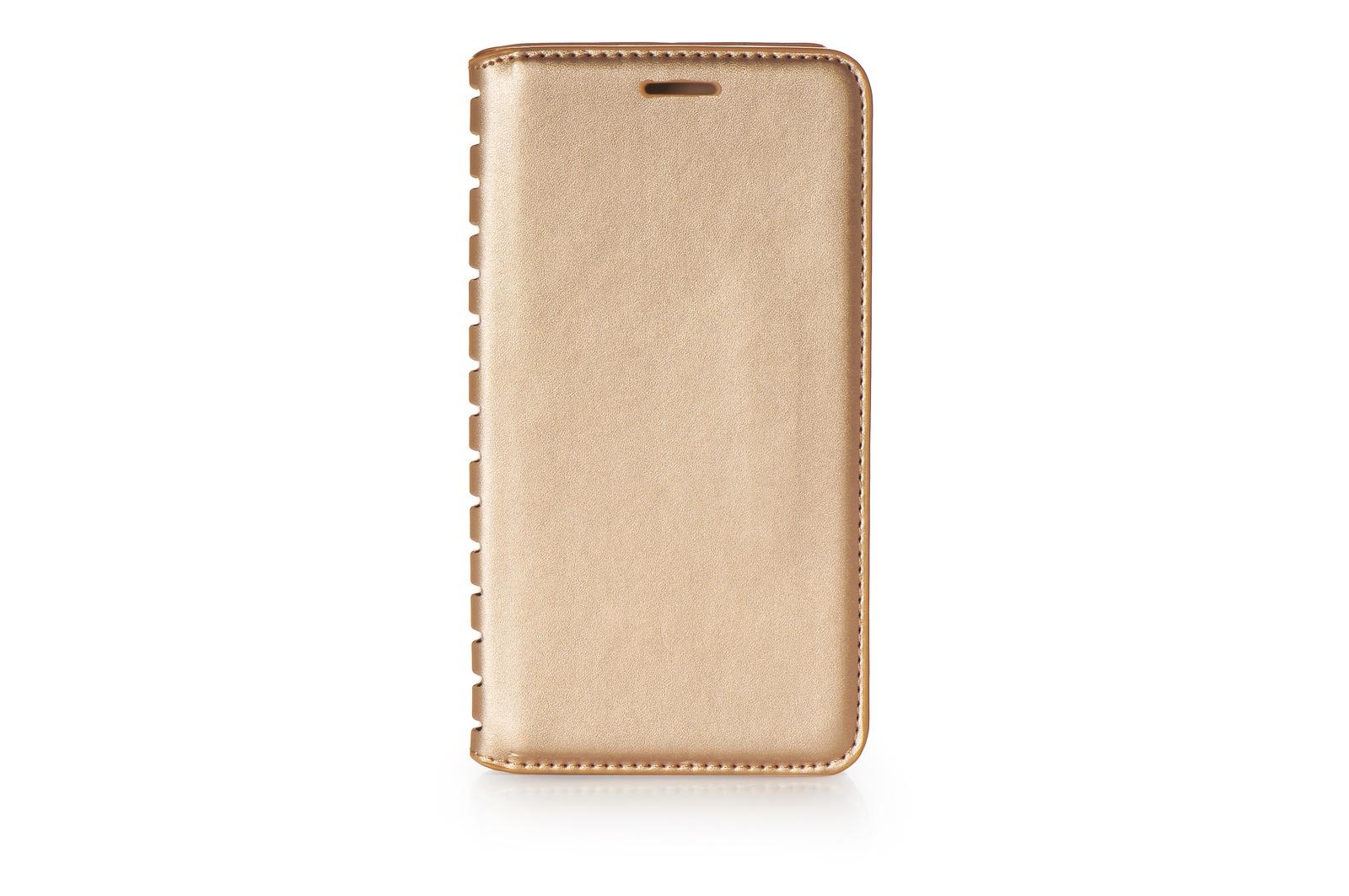 Чехол для сотового телефона Gurdini Чехол книжка с силиконом на магните Premium для Samsung Galaxy J6 2018, 906539, золотой