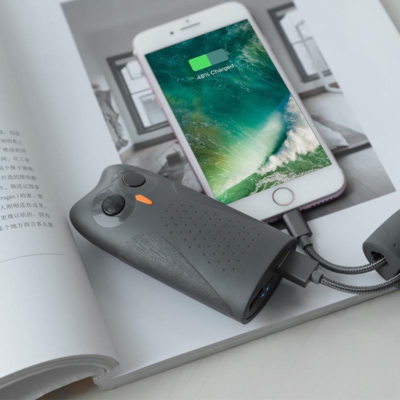 Внешний аккумулятор Hoco KJ21, 1125 аккумулятор hoco j29b cool square 20000 mah black
