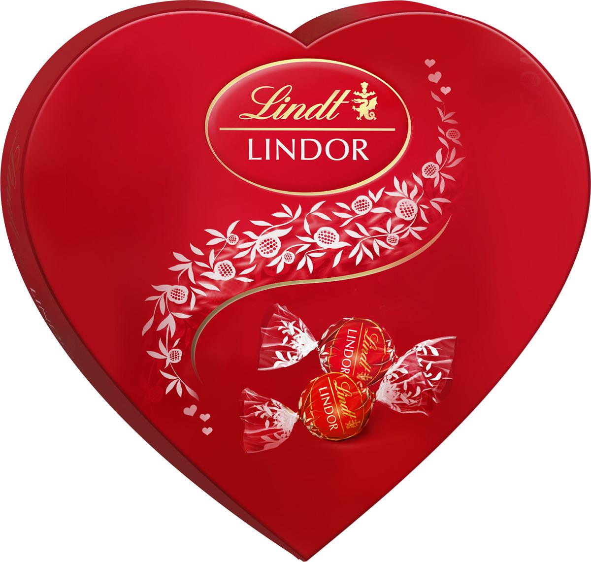 Конфеты шоколадные Lindt Lindor, 160 г шоколад lindt lindor молочный 200г