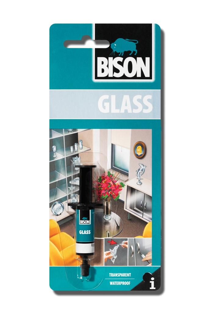 цена на Монтажный клей Bison д/стекла GLASS ADHESIVE CRD 2ML, 6305390