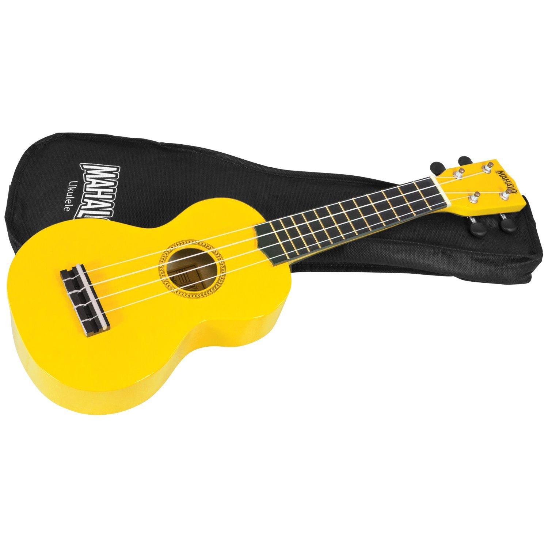 Укулеле Mahalo Mahalo MR1YW - Укулеле с чехлом, струны Aquila, цвет желтый, maУТ000000171, желтый