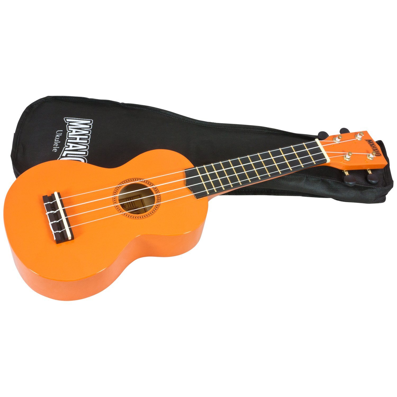 Укулеле Mahalo Mahalo MR1OR Укулеле сопрано с чехлом, maУТ000000166, оранжевый укулеле enya eus x1 с чехлом