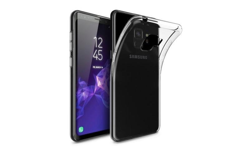 Чехол для сотового телефона Gurdini Чехол накладка силикон высокотехнологичный для Samsung S9, 905894, прозрачный