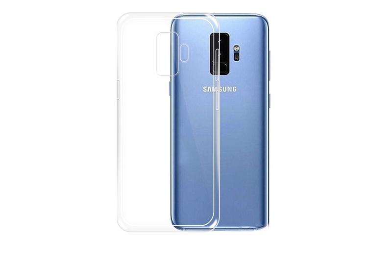 Чехол для сотового телефона Gurdini Чехол накладка силикон высокотехнологичный для Samsung S9 Plus , прозрачный