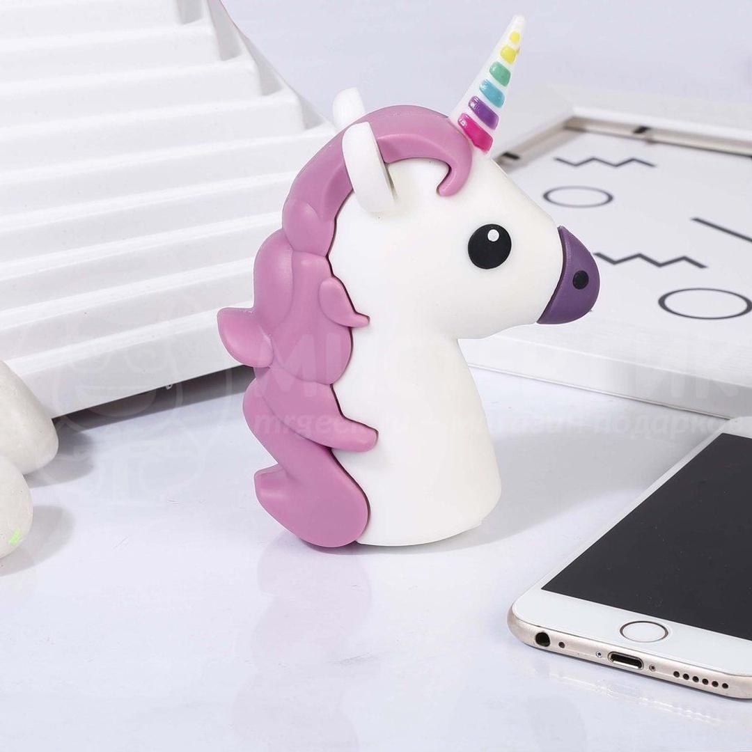 Фото - Внешний аккумулятор Perston Unicorn-2, белый внешний аккумулятор perston smile желтый