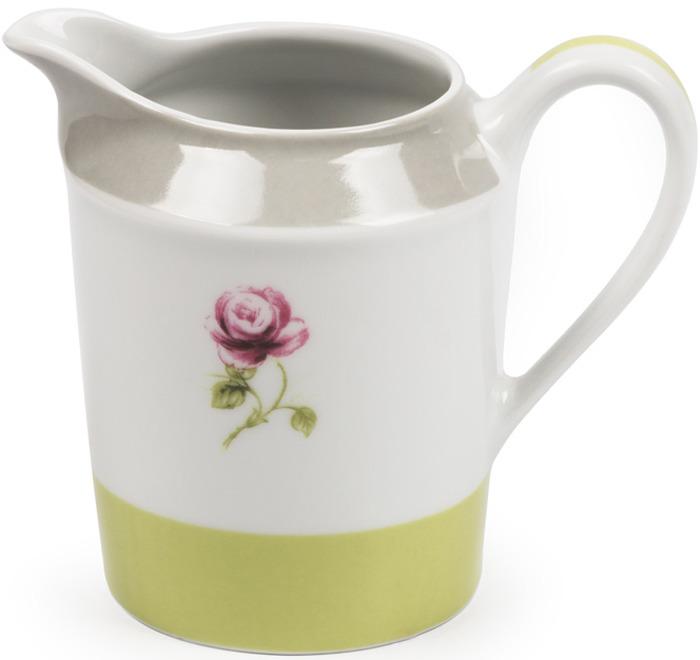 Молочник La Rose des Sables Cocooning, 5303030 2375, белый, серый, салатовый, 300 мл кружка лабиринт 300 мл la rose des sables кружка лабиринт 300 мл