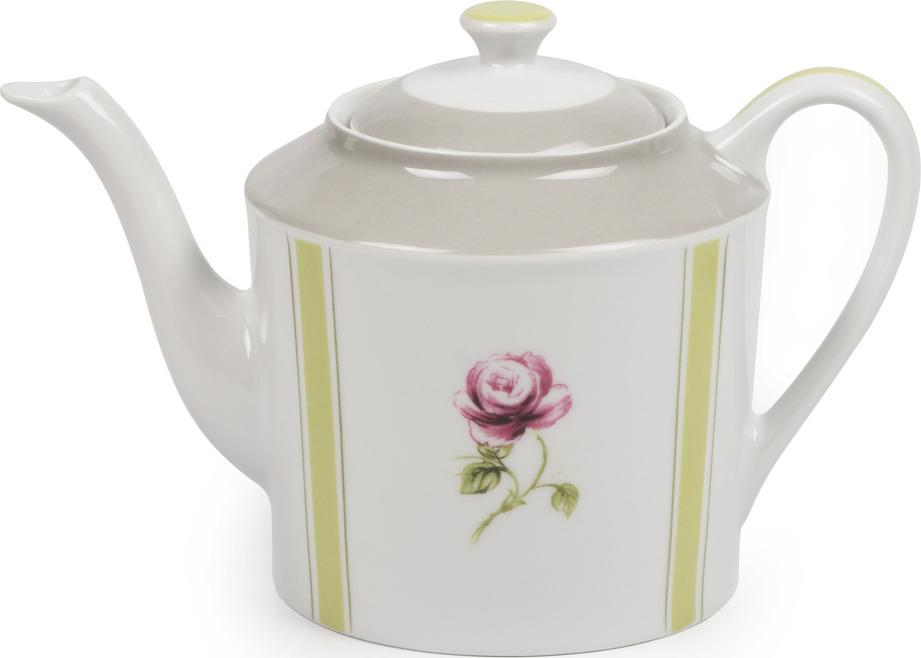 Чайник заварочный La Rose des Sables Cocooning, 5303112 2375, белый, серый, салатовый, 250 мл чайник 250 мл elff decoration чайник 250 мл