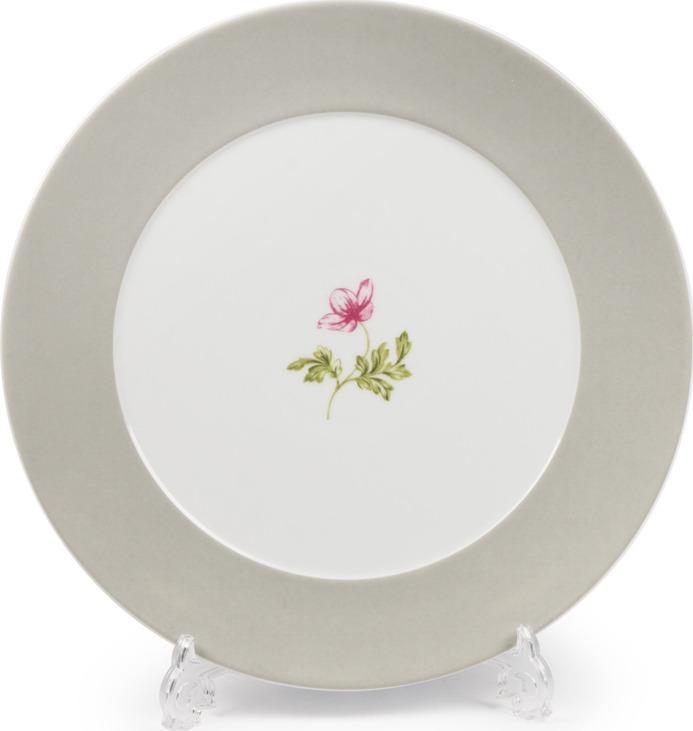 Блюдо La Rose des Sables Cocooning, 5800632 2375, белый, серый, салатовый, диаметр 32 см салатник круглый 13 см la rose des sables mimosa didon or 533913 1645