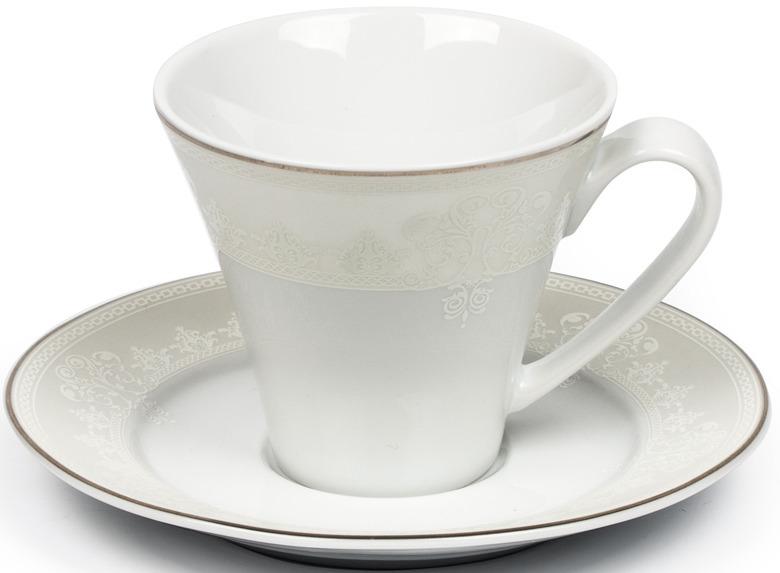 Чайная пара La Rose des Sables Arum, 6403517 1835, белый, 220 мл чайная пара камыши фарфор германия гдр kahla 1957 1964 гг