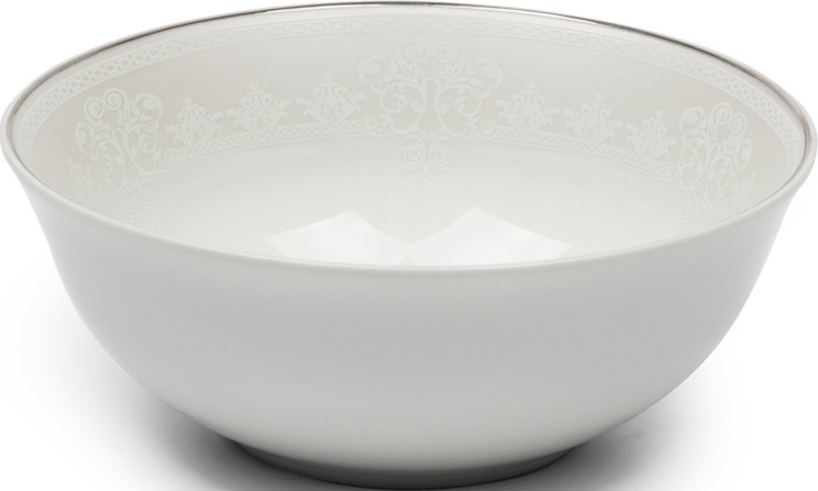 Салатник La Rose des Sables Arum, 6403914 1835, белый салатник круглый 14 см la rose des sables