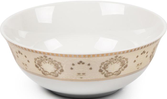 Салатник La Rose des Sables Riad Or, 6403914 1853, кремовый, золотой, диаметр 14 см салатник круглый 13 см la rose des sables mimosa didon or 533913 1645
