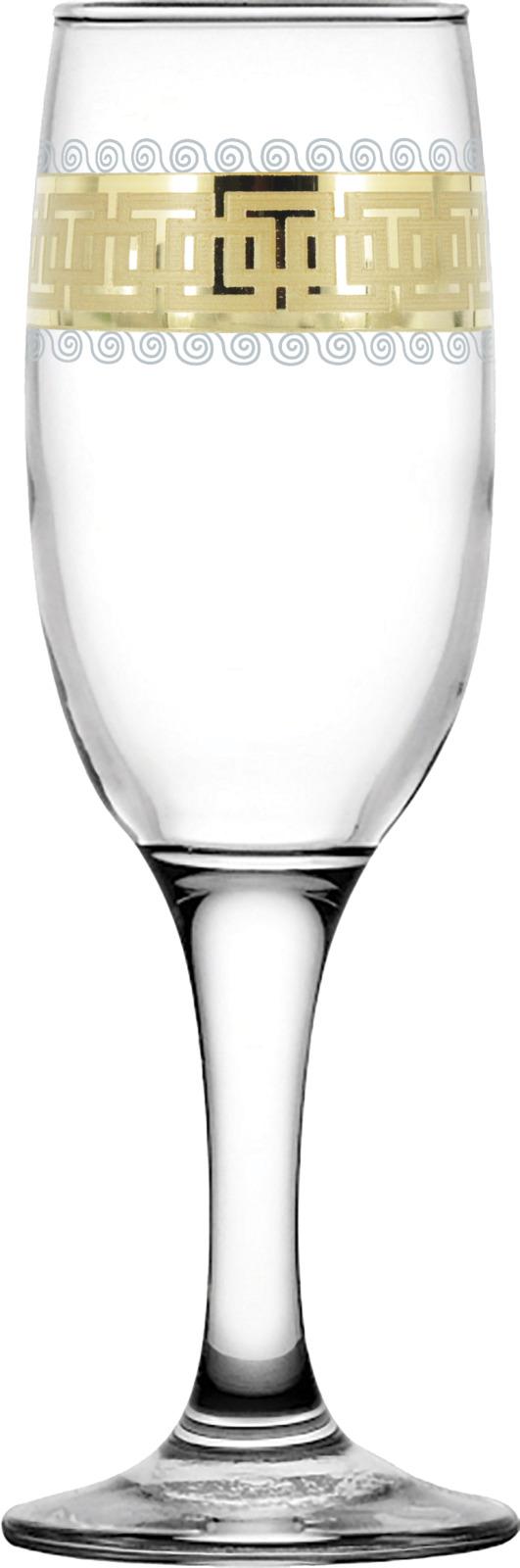 Набор бокалов Гусь-Хрустальный Меандр, EAV26-419, 190 мл, 6 шт набор бокалов гусь хрустальный золотой карат