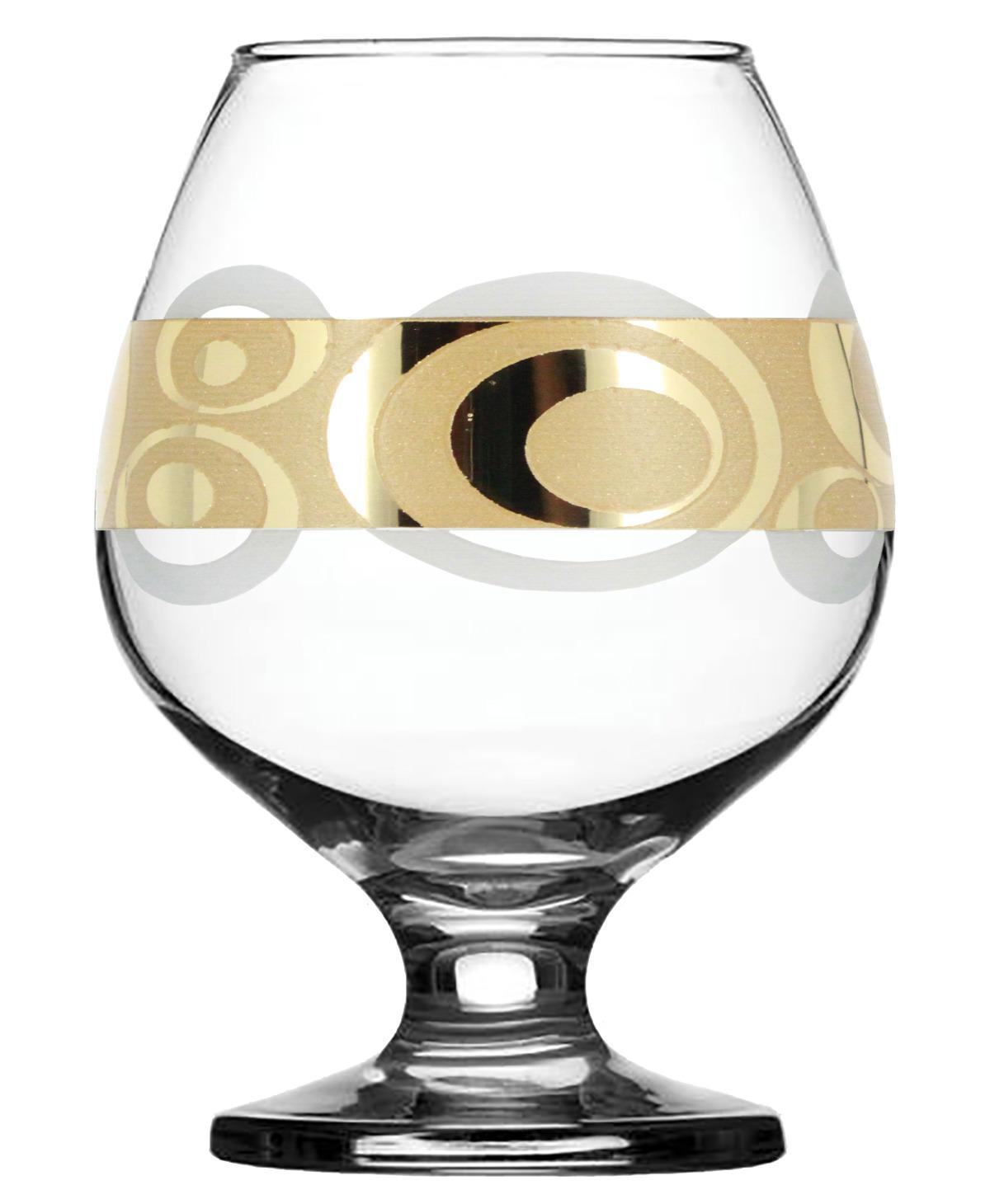 Набор бокалов для бренди Гусь-Хрустальный Сияние, EAV27-188, 400 мл, 6 шт набор бокалов гусь хрустальный золотой карат