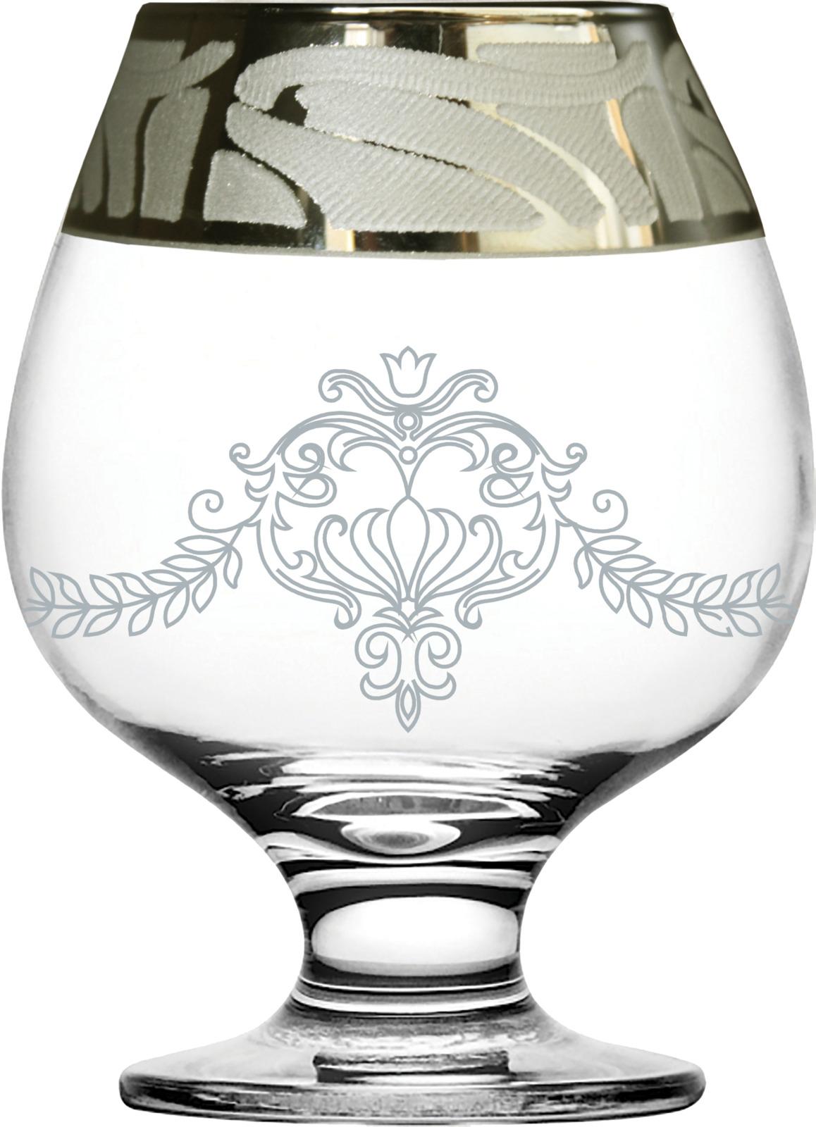 Набор бокалов для бренди Гусь-Хрустальный Мускат, GE05-188, 400 мл, 6 шт набор бокалов гусь хрустальный золотой карат