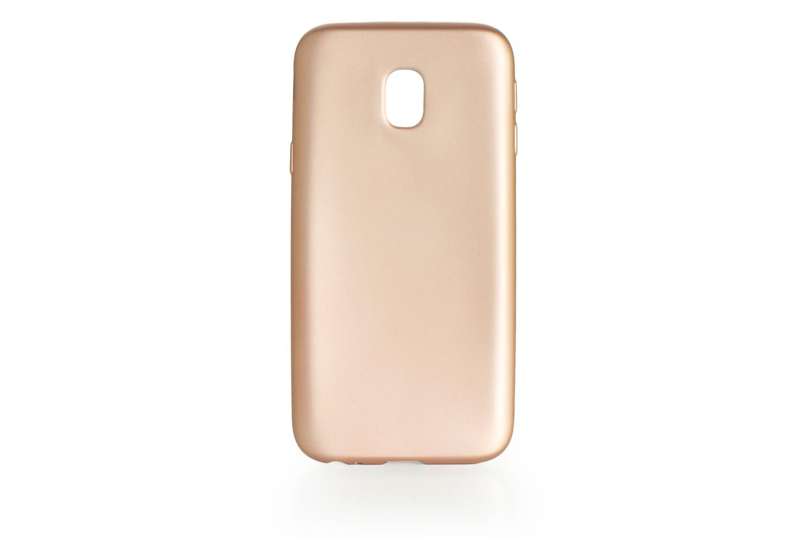 Чехол для сотового телефона Gurdini силикон Soft Touch 904946 для Samsung Galaxy J3 2017 (J 330), золотой