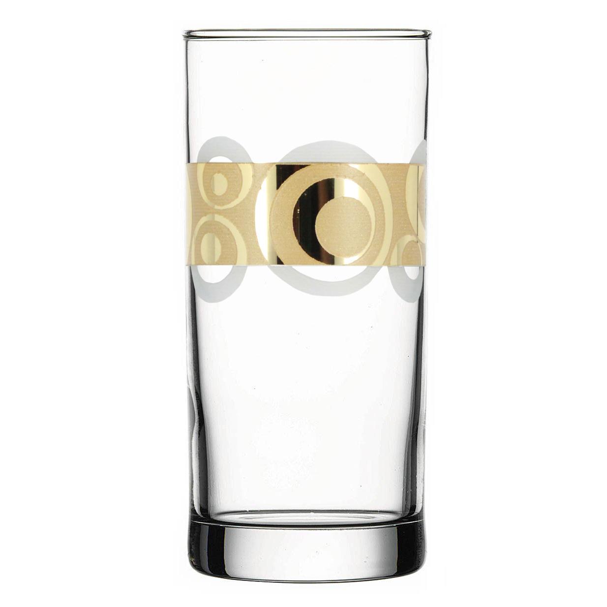 Набор стаканов Гусь-Хрустальный Сияние, EAV27-402, 290 мл, 6 шт набор стаканов гусь хрустальный веточка 350 мл 6 шт