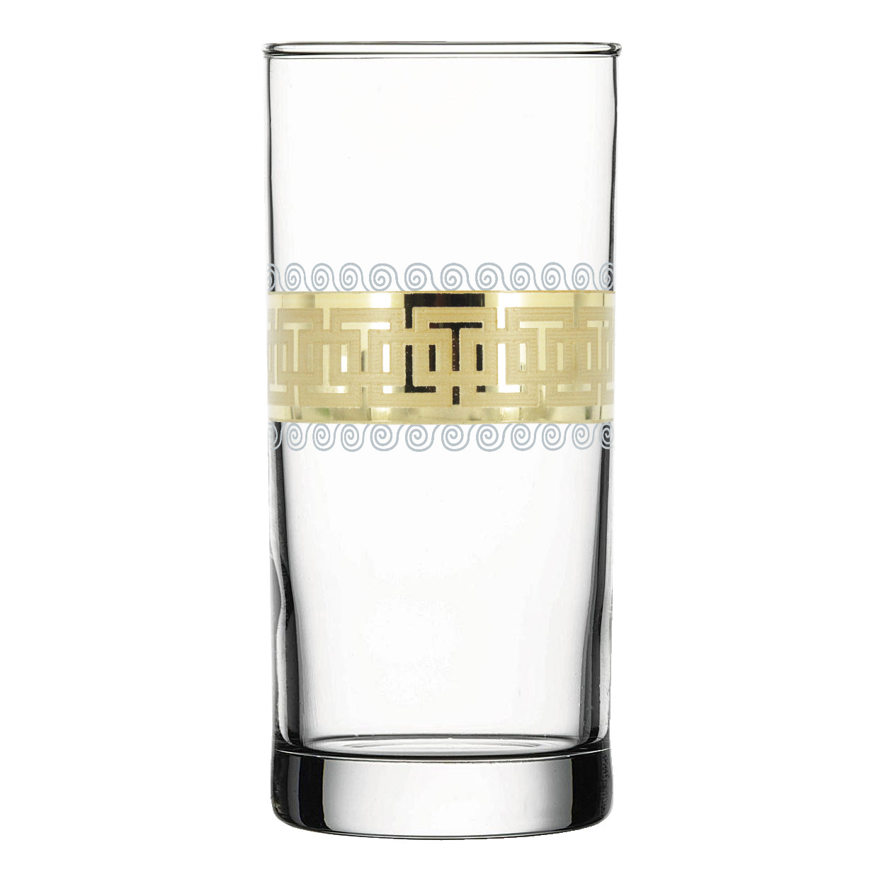 Набор стаканов Гусь-Хрустальный Меандр, EAV26-402, 290 мл, 6 шт набор стаканов гусь хрустальный веточка 350 мл 6 шт