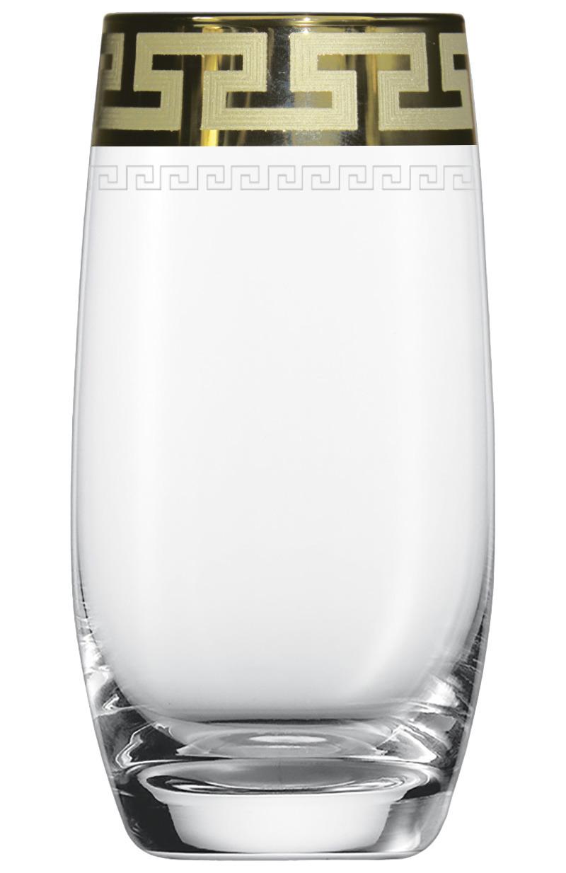 Набор стаканов Гусь-Хрустальный Греческий узор, GE03-809, 330 мл, 6 шт набор стаканов гусь хрустальный веточка 350 мл 6 шт