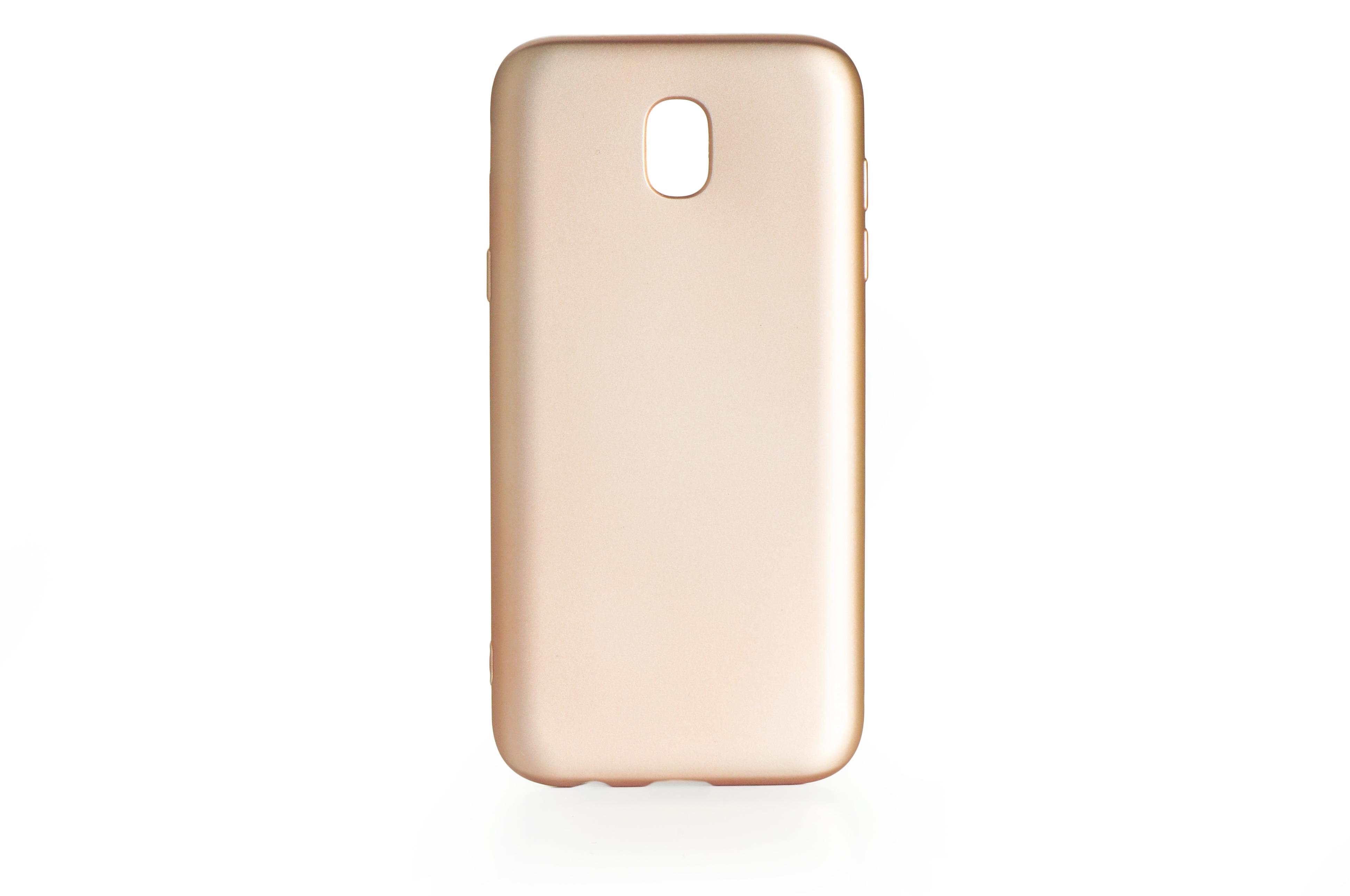 Чехол для сотового телефона Gurdini силикон Soft Touch 904942 для Samsung Galaxy J5 2017 (J 530), золотой