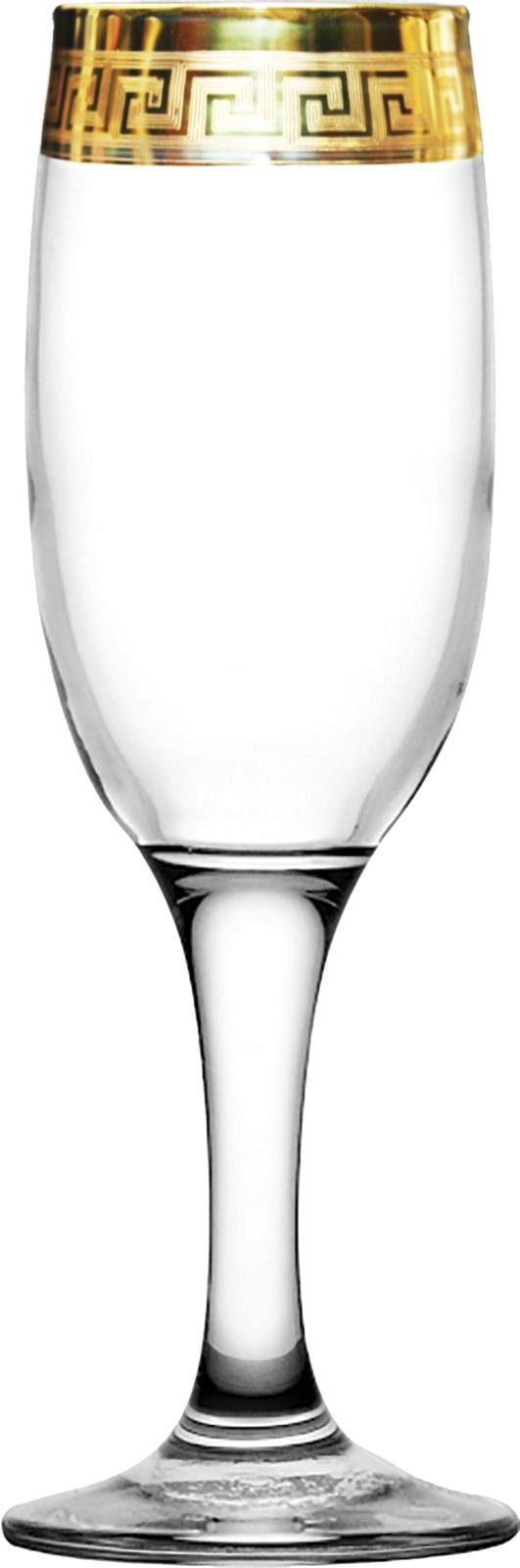 Набор бокалов Гусь-Хрустальный Пирамида, TAV91-419, 190 мл, 6 шт набор бокалов гусь хрустальный версаче голд tav91 160 200 мл 6 шт
