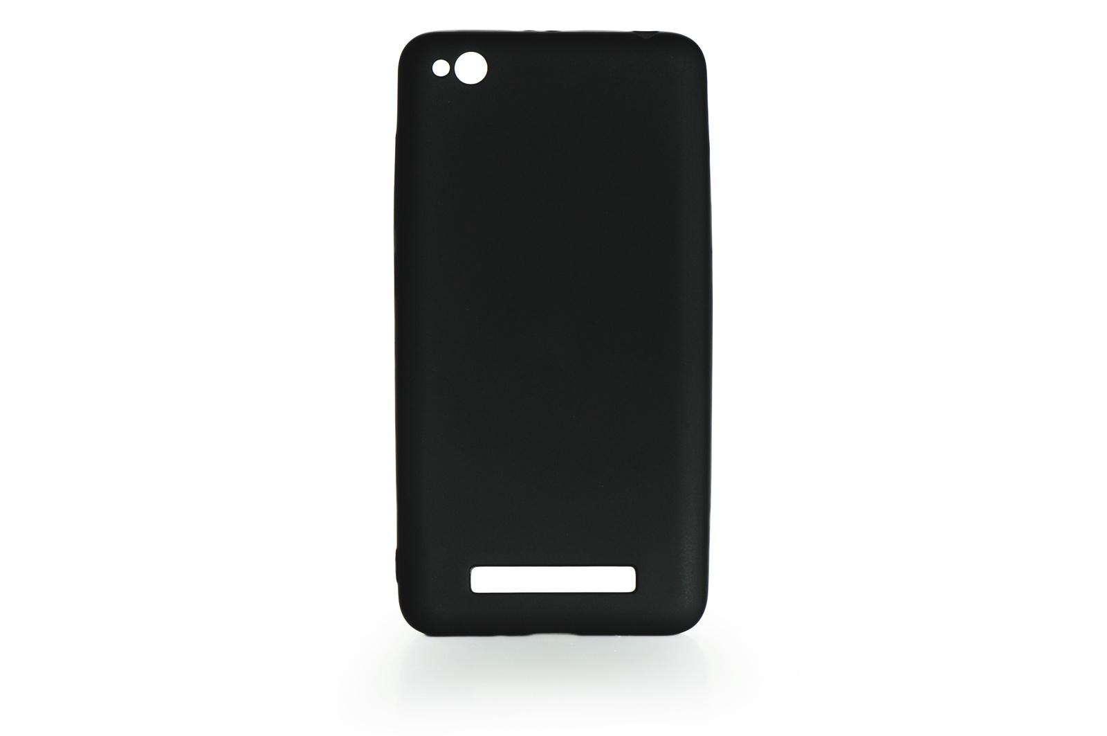 Чехол для сотового телефона Gurdini Чехол накладка силикон Soft Touch для Xiaomi Redmi 4A , 903852, черный