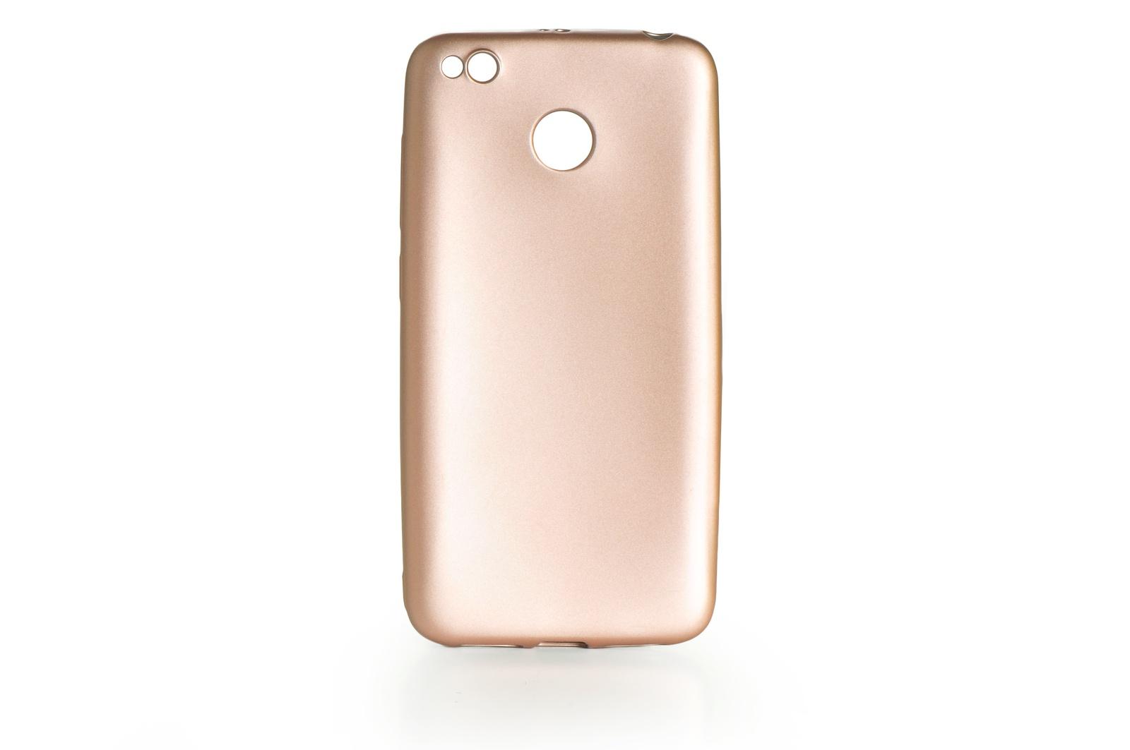Чехол для сотового телефона Gurdini силикон Soft Touch для Xiaomi Redmi 4X, 903853, золотой