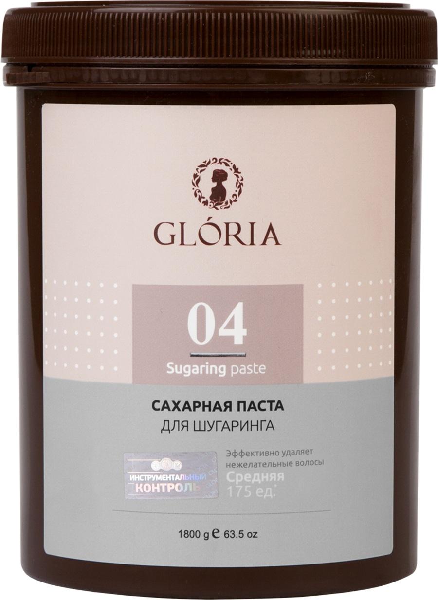 Сахарная паста GLORIA SUGARING & SPA для депиляции GLORIA CLASSIC Средняя 1800 гр, 1800