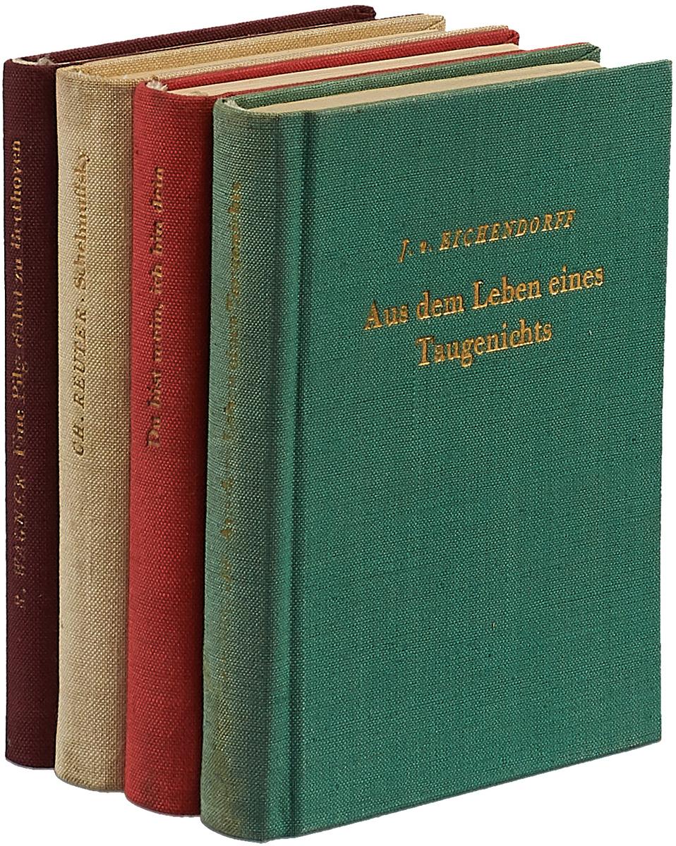 Эйхендорф Й., Вагнер Р., Рейтер К. Kleine bibliothek (комплект из 4 книг) симонов в ридинг м лоуренс р барон рид к спиритизм предсказания комплект из 4 книг