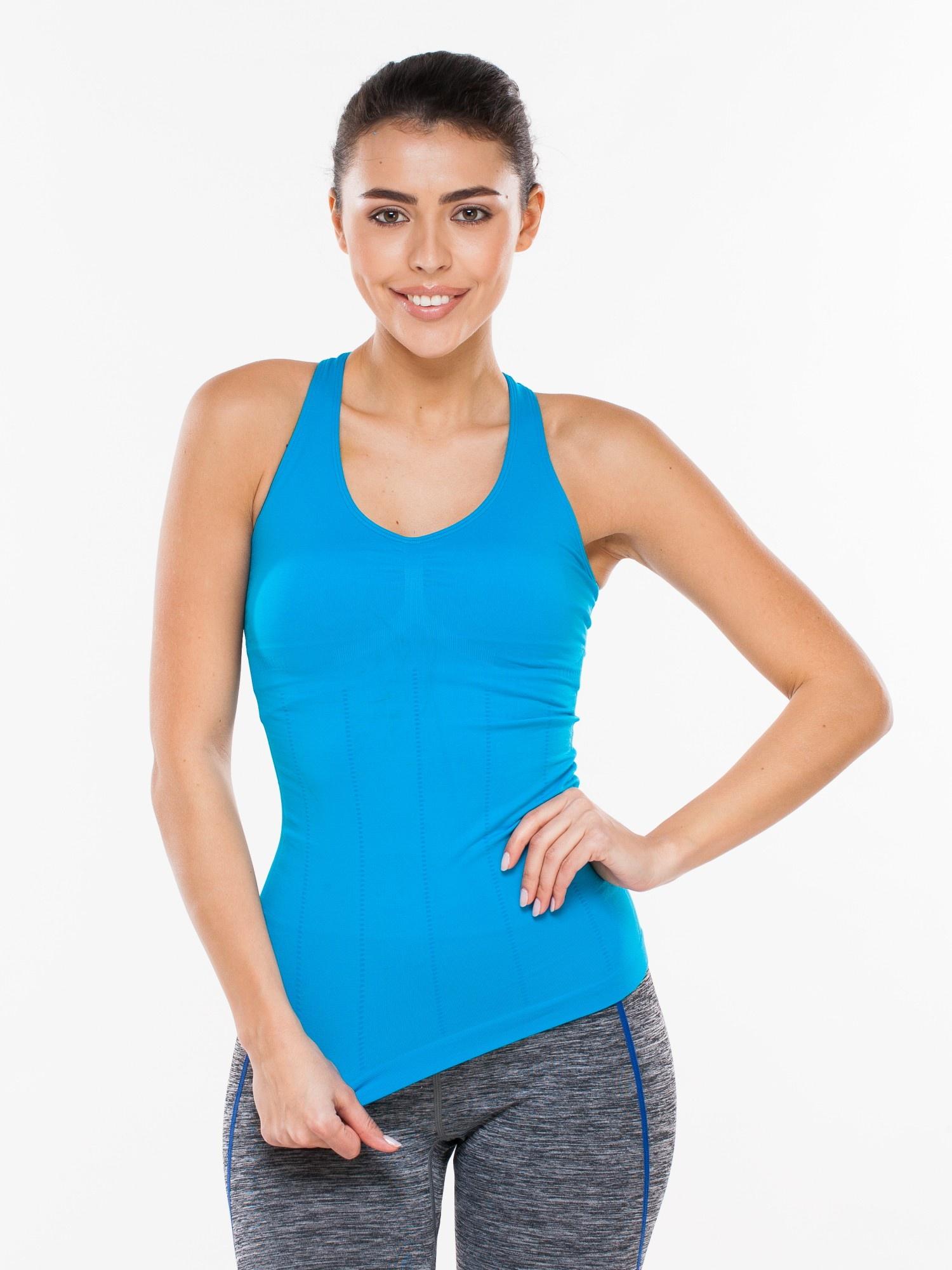 Майка MORERA 35480M SKY BLUE (S), синий 40, 42 размер35480M SKY BLUE (S)Спортивная майка для спорта, фитнеса, бега, йоги и т.д.