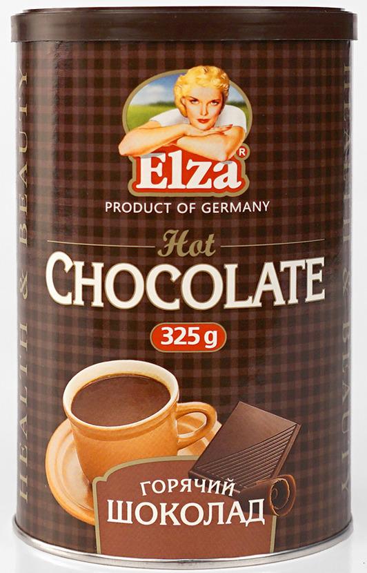 Elza Hot Chocolate шоколад горячий, 325 г цена 2017