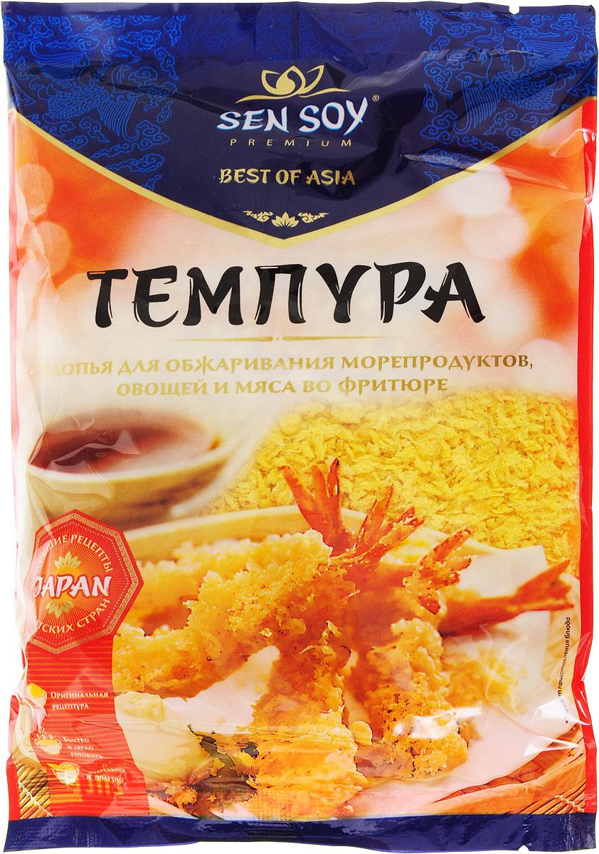 Sen Soy Темпура хлопья панировочные японские, 100 г sen soy tempura японская панировочная мука 150 г