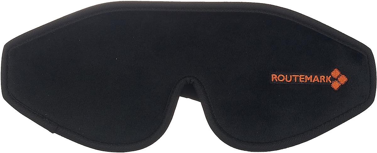 Маска для сна Routemark 3D Эволюция, E3D-black , черный