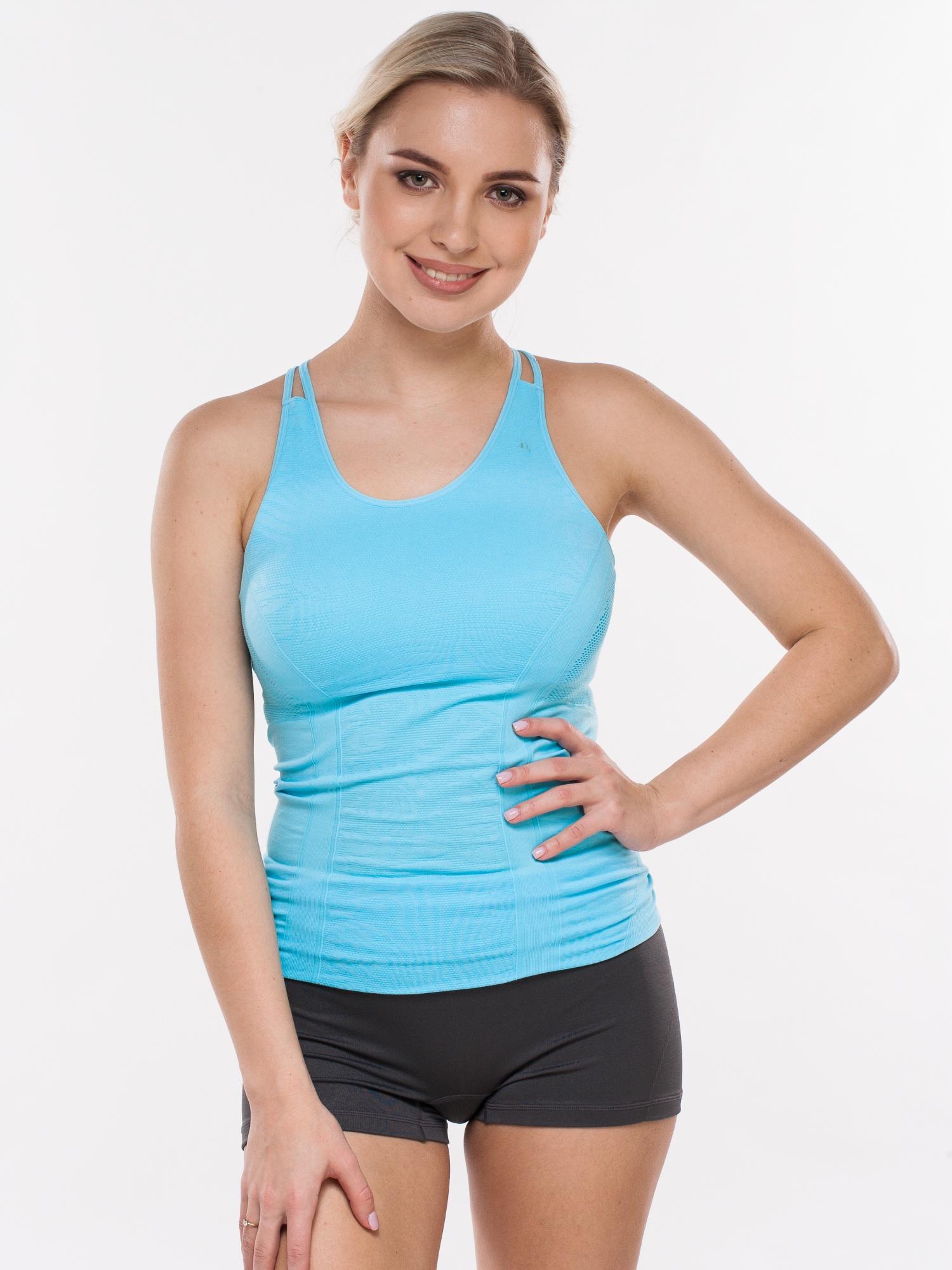 Майка PRO-FIT 55750 FOAM (S), голубой 42 размер55750 FOAM (S)Спортивная майка для спорта, фитнеса, бега, йоги и т.д.