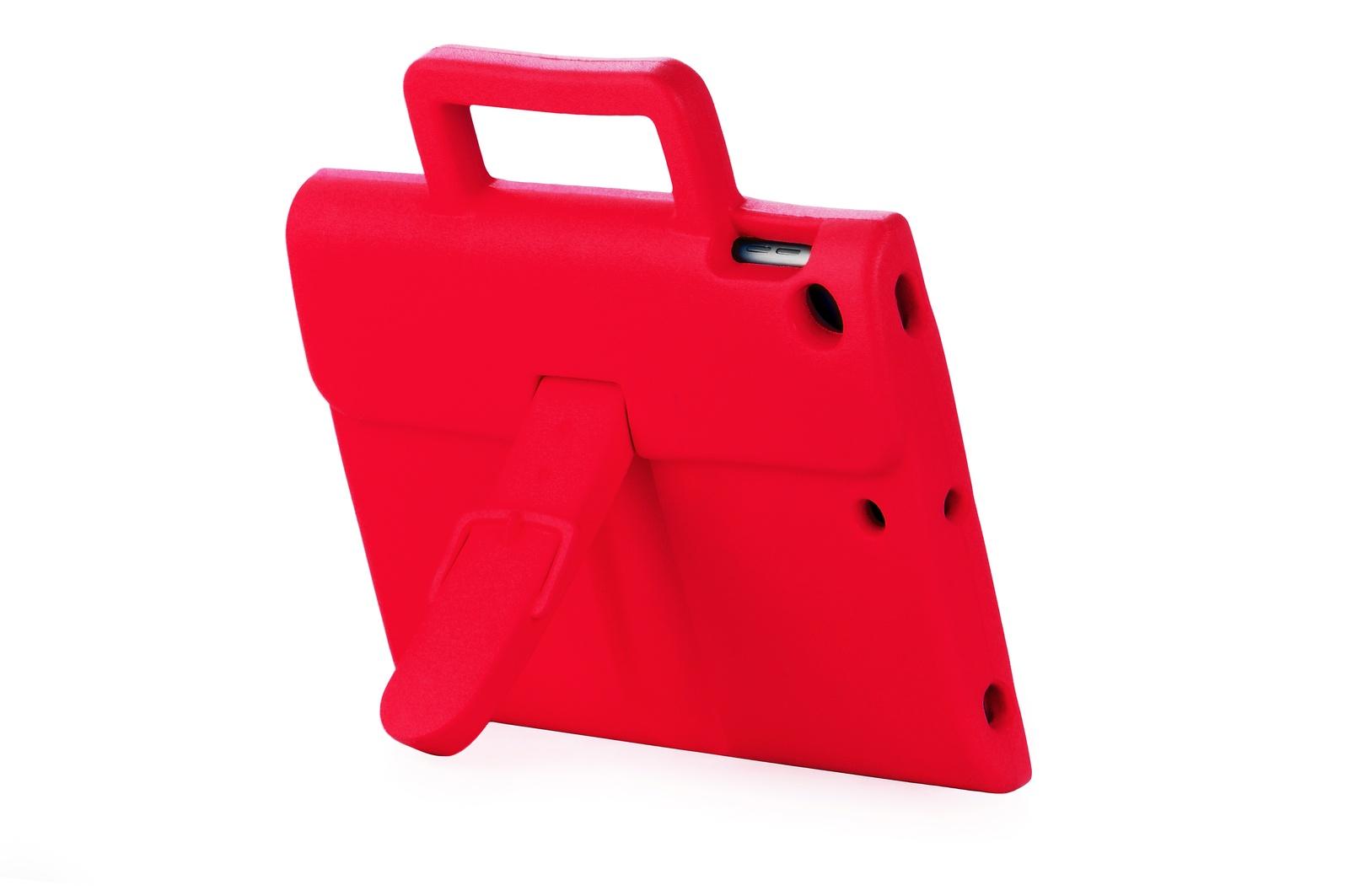 """Чехол для планшета Школьник детский портфель 904570 для iPad mini 1/2/3/4 7.9"""", красный"""