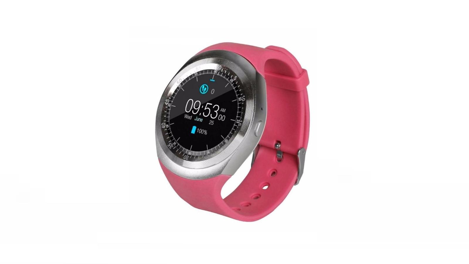 Умные часы ZDK Y1 Rose умные часы ginzzu® gz 701 black 50м android ios bluetooth мониторинг сна калорий физ активности