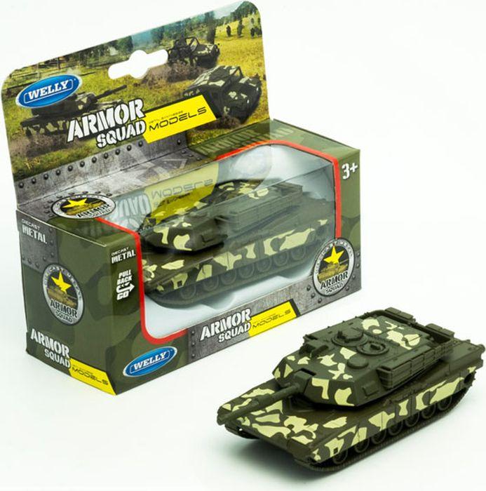 Машинка Welly Танк, 99193CM машинка vsp танк 628437