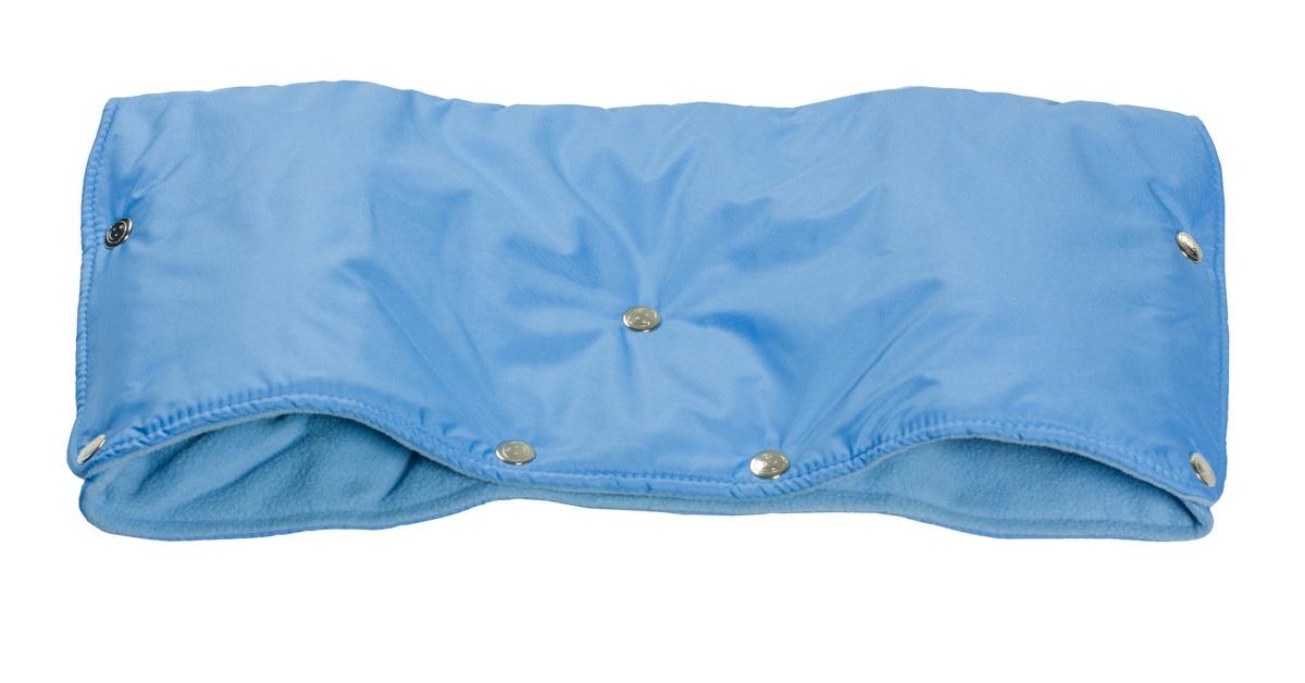 Аксессуар для колясок Чудо-Чадо Муфта для рук на коляску флисовая (кнопки), МКФ05-000 голубой муфта для рук на коляску чудо чадо мкф18 000 флис хаки