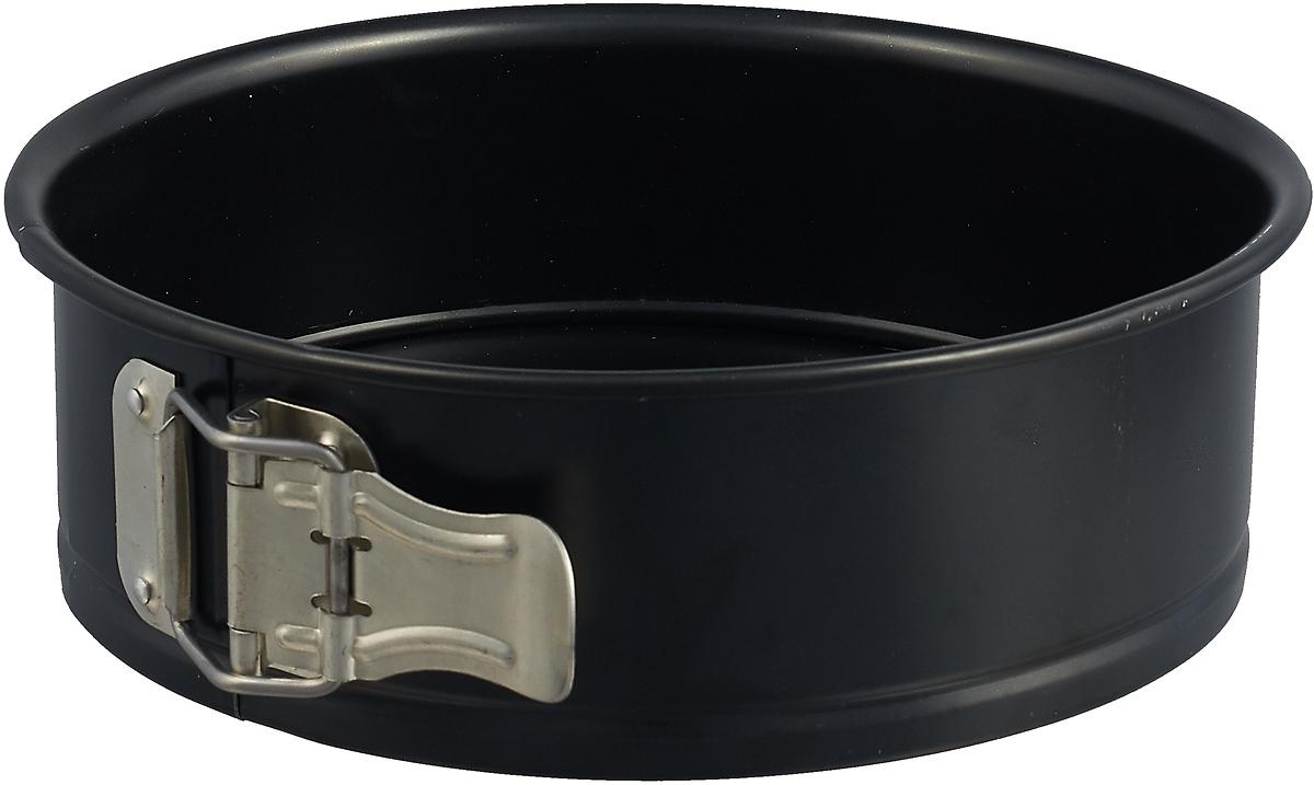 Форма для выпечки Metaltex, 22.06.02, разборная, черный, 20 см форма для выпечки metaltex разборная со вставкой для кекса 22 06 13 черный диаметр 24 см