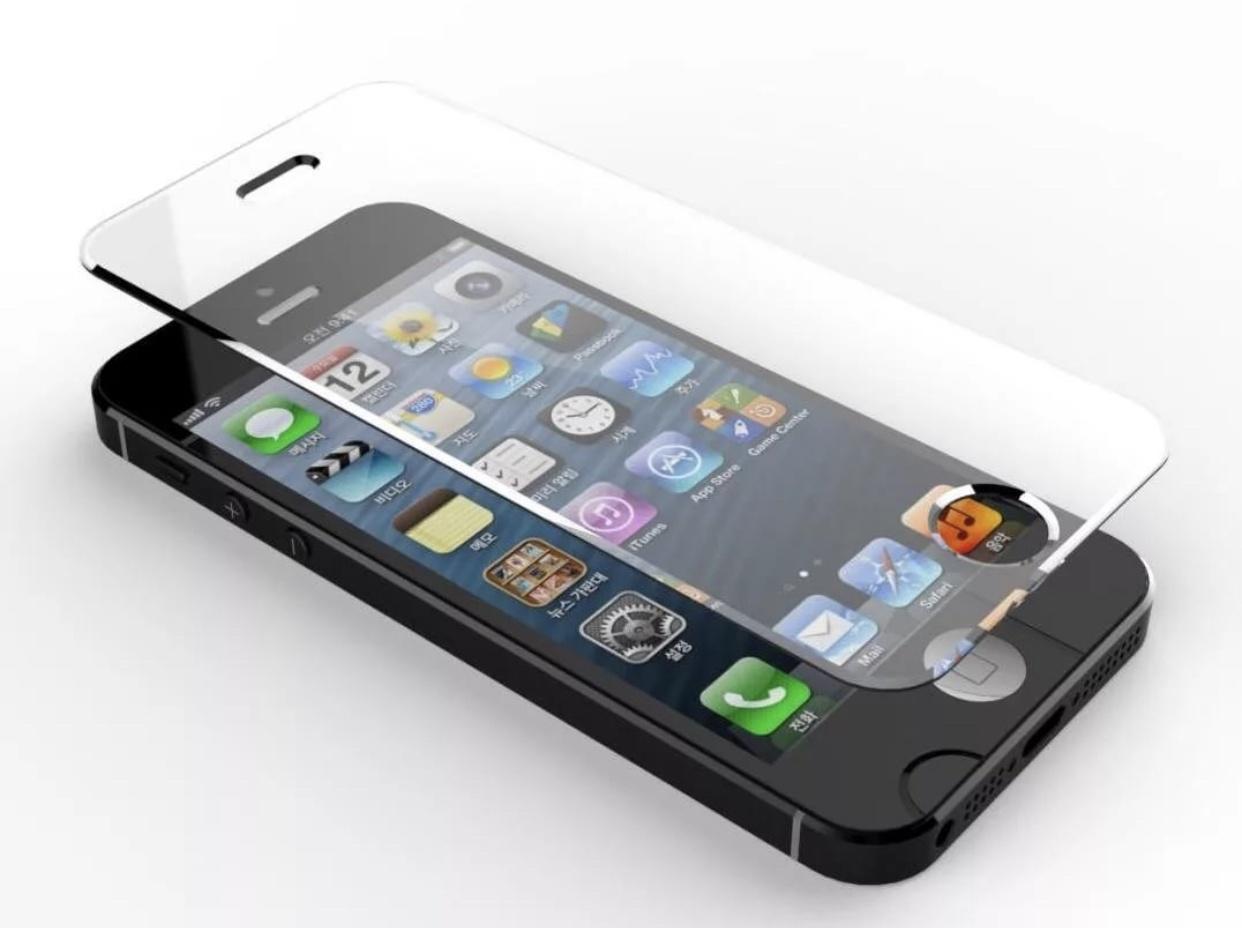 Защитное стекло Markclub@Hoco стекло 5s, 9H Glass iPhone 5/5s, прозрачный защитное стекло markclub hoco стекло 5s 9h glass iphone 5 5s прозрачный
