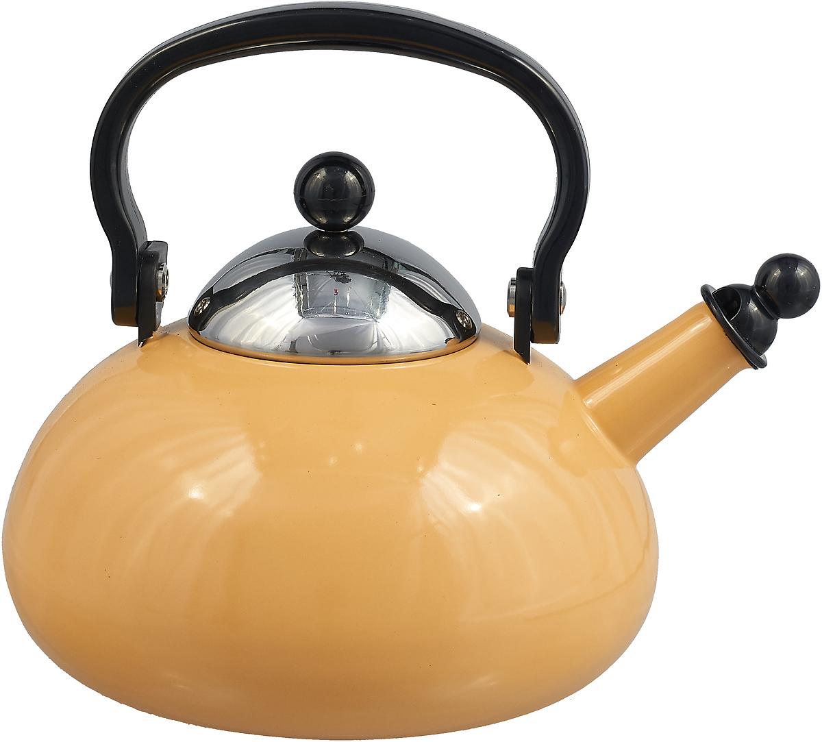 Чайник эмалированный Ejiry, 1217, желтый, 2,3 л1217Чайник эмалированный Ejiry, 1217, желтый, 2,3 л.Эмалированный чайник элитного класса. Внутренняя поверхность обработана по технологии гладкого стекла, что позволяет максимально сохранить вкусовые свойства продуктов питания, особенно при длительной обработке. Запах готовой пищи не задерживается на ультрагладких стенках посуды после мытья. Покрытие устойчиво к воздействию щелочей и кислот и не вступает в химические реакции с пищевыми продуктами. Гладкая стекловидная поверхность препятствует размножению бактерий и значительно превосходит нержавеющую сталь, алюминий и другие материалы по санитарным свойствам и простоте ухода. Следует помнить, что эмаль представляет собой стекловидное покрытие и не терпит грубого обращения: ударов, падений на пол и т.д. В этих случаях покрытие может отслоиться, поэтому с изделиями нужно обращаться осторожно. Меры предосторожности: Не ставить на огонь пустыми без продуктов: если по ошибке изделие оказалось на огне пустым – не охлаждать резко под струей воды, подвергать естественному охлаждению. В противном случае изделие может растрескаться. Регулируйте пламя конфорки так, чтобы его диаметр соответствовал диаметру изделия и не перегревал ручку. При мытье изделий нельзя пользоваться металлическими щетками, мыть изделие нужно горячей водой и нейтральными моющими средствами при помощи мягкой губки.