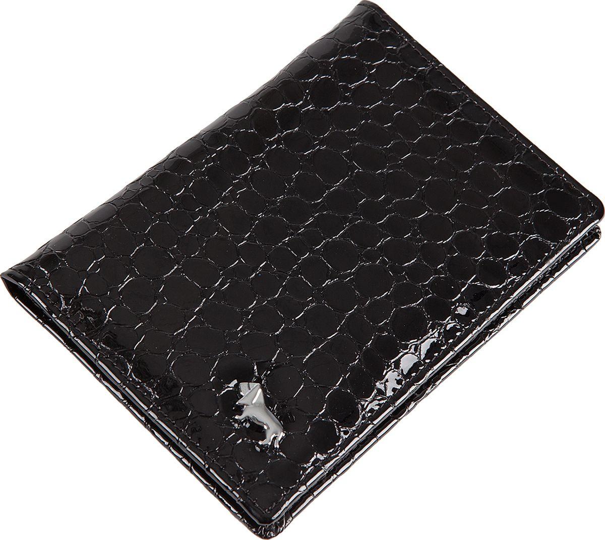 Обложка для документов женская Labbra, L061-0011 black, черный цена