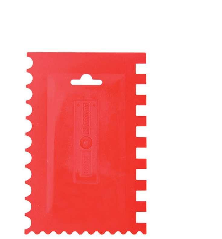 Шпатлевка archimedes 90792 Шпатель пластмассовый Stabi зубчатый, 90792 цена