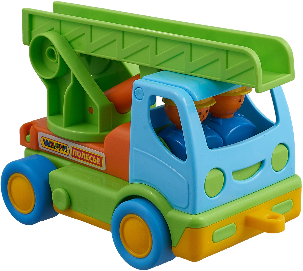 Полесье Пожарный автомобиль Мой первый грузовик, 3225, цвет в ассортименте автомобиль пожарный полесье мой первый грузовик в сеточке 3225