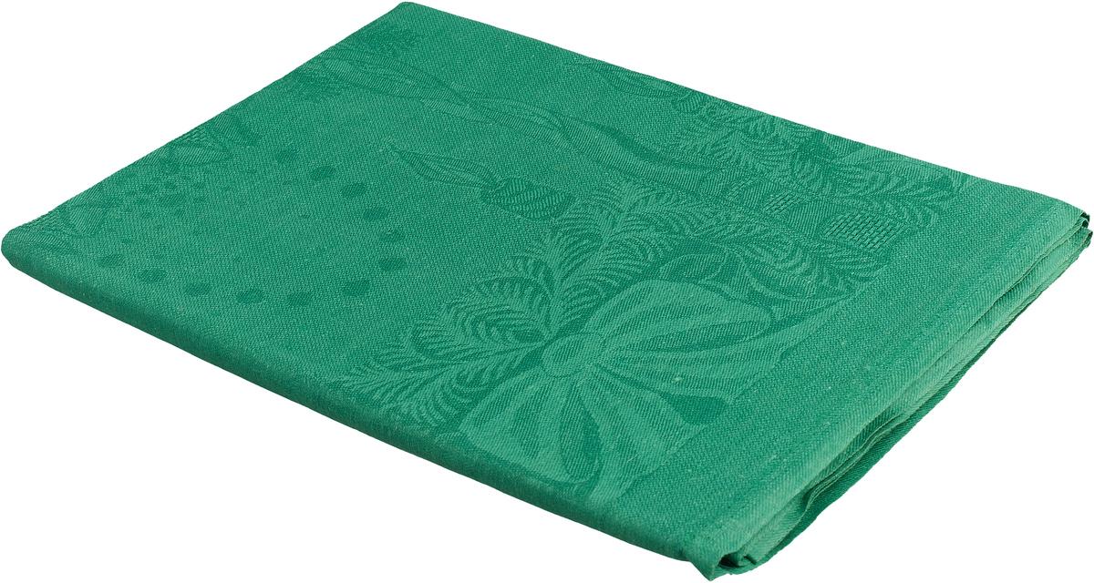 Скатерть жаккардовая Гаврилов-Ямский Лен, 1со2, зеленый, 150 x 250 см capri одежда из льна